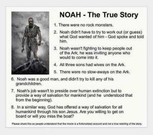 The True Story of Noah